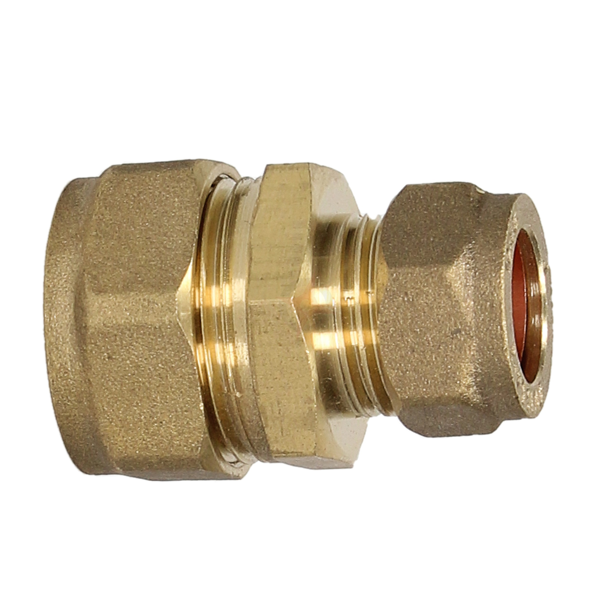Compression 22mm x 15mm Reducing Coupler