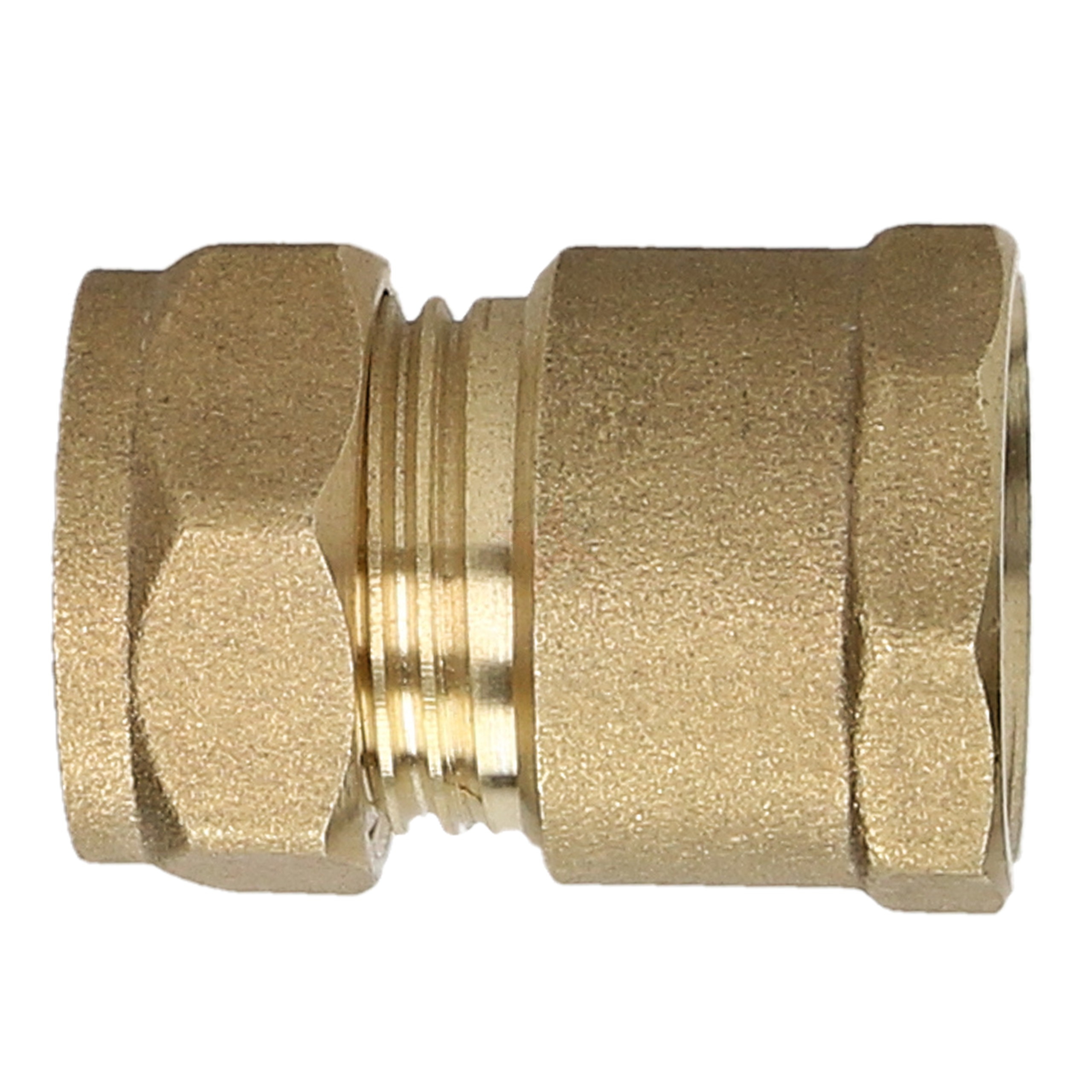 "Compression Adaptor 15mm x 1/2"" Female Iron Straight"