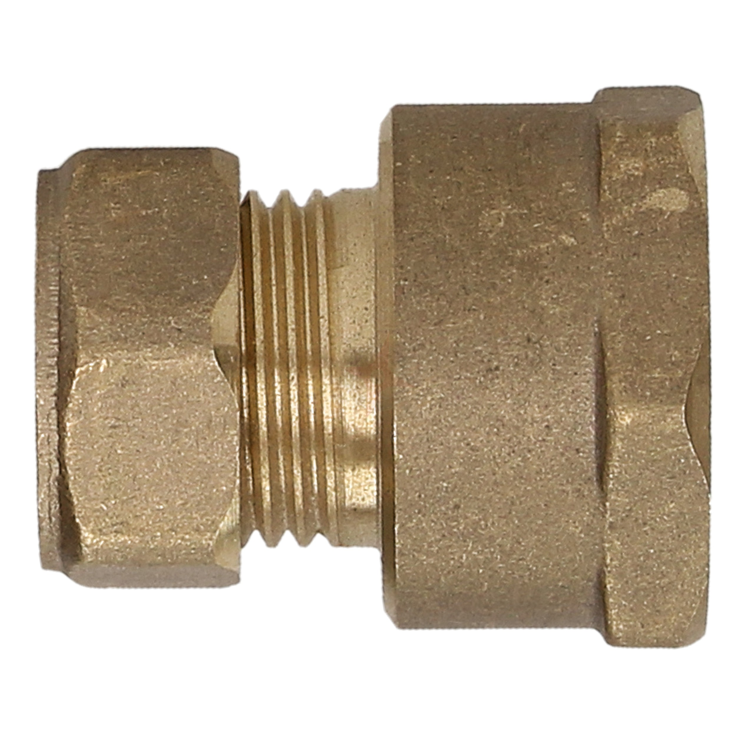 "Compression Adaptor 15mm x 3/4"" Female Iron Straight"