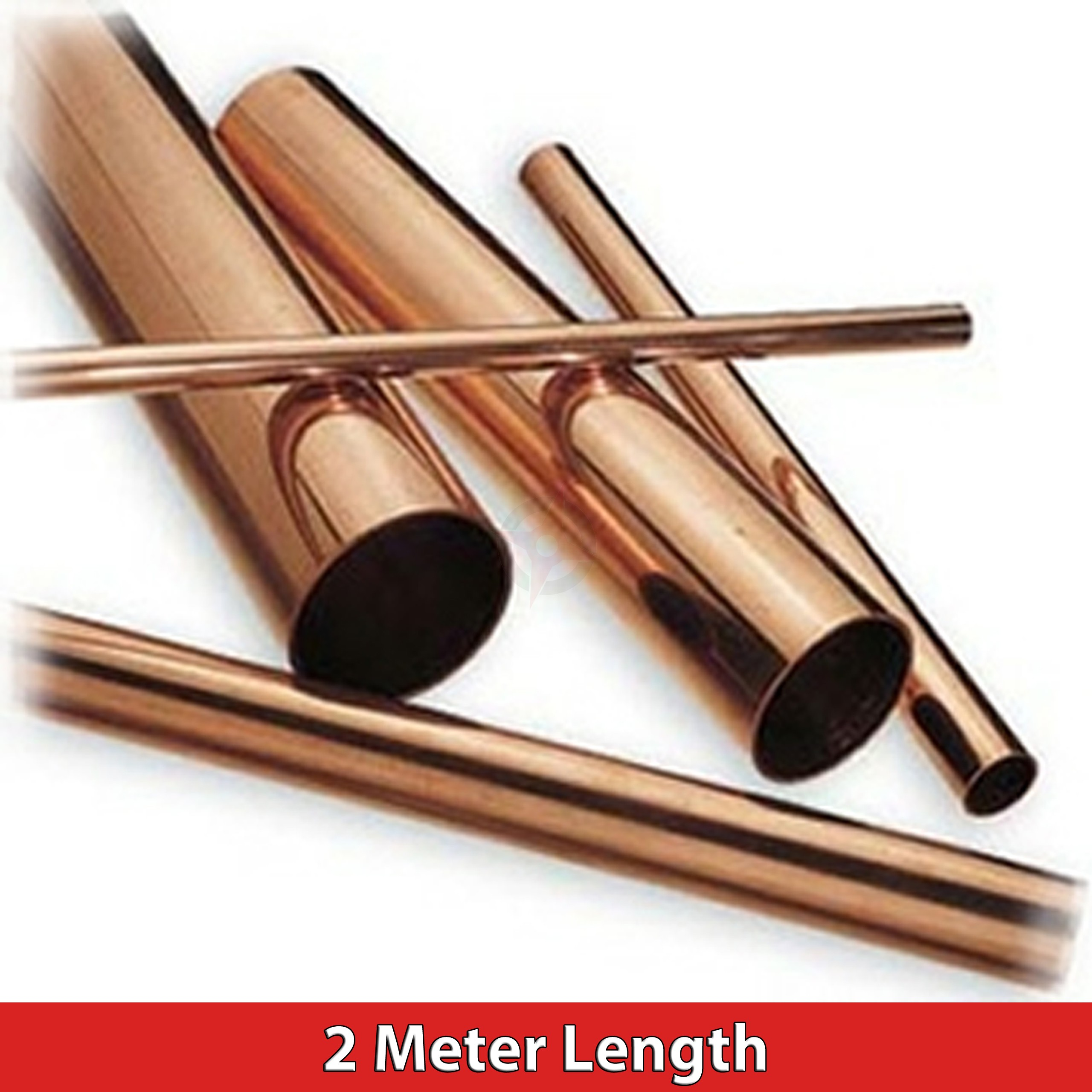 Copper Tube 15mm  (2 Metre Length)
