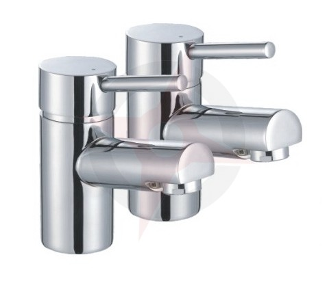 Lavata Contemporary Basin Taps (Pair)