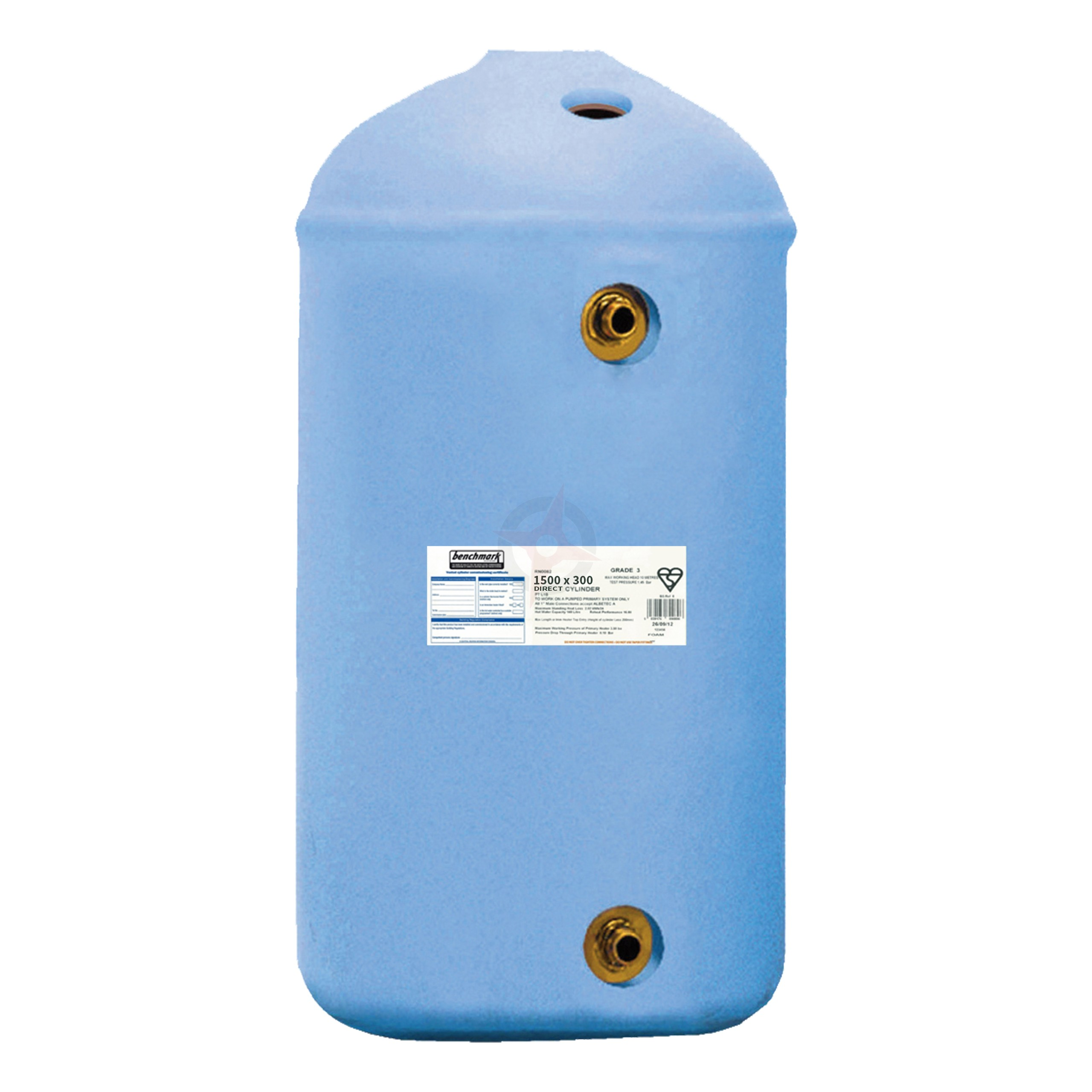 Direct 1500 x 300 Copper Cylinder