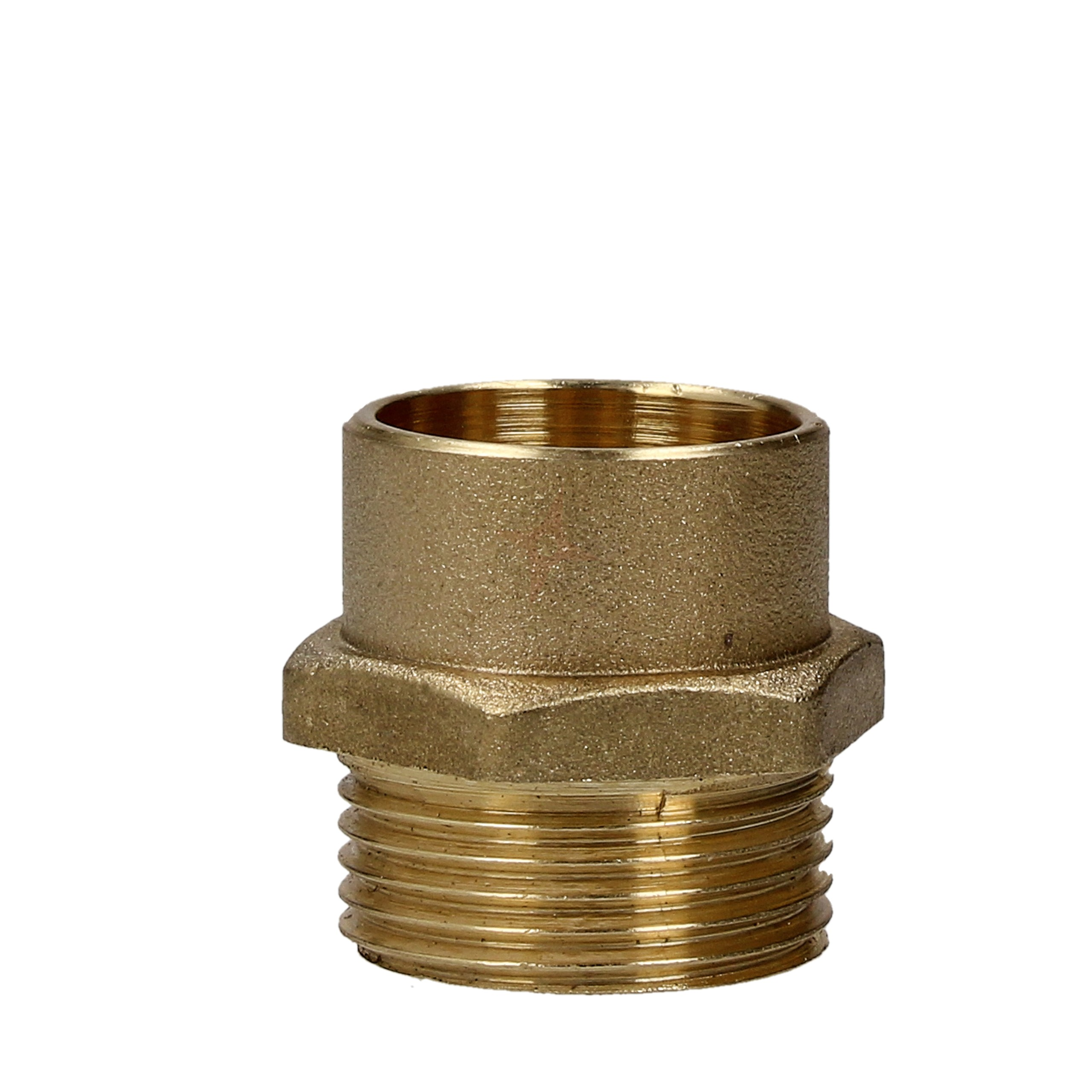 """Endfeed 22mm x 3/4"""" Male Iron Coupler"""