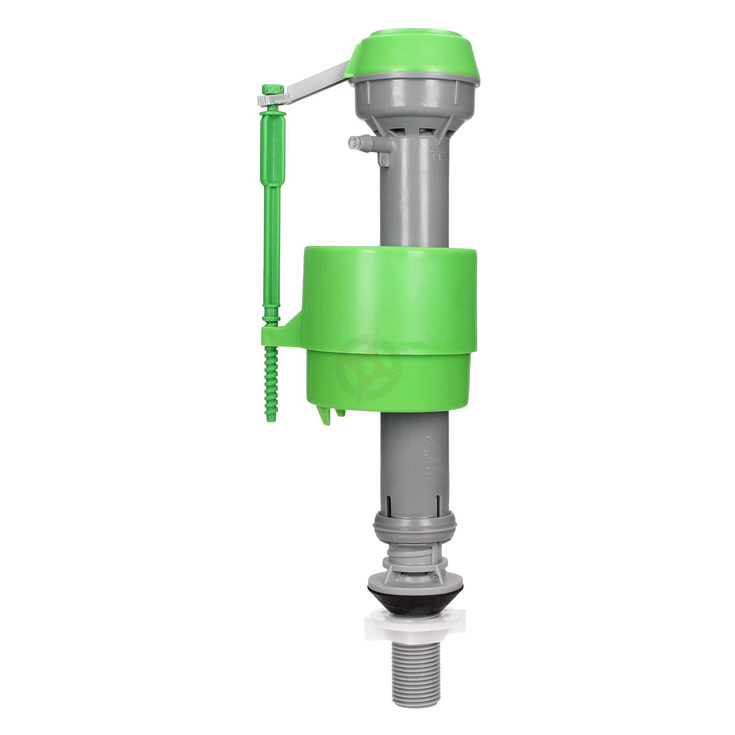 "FlushKING Adjustable Bottom Entry Fill Valve - Plastic Shank (1/2"")"