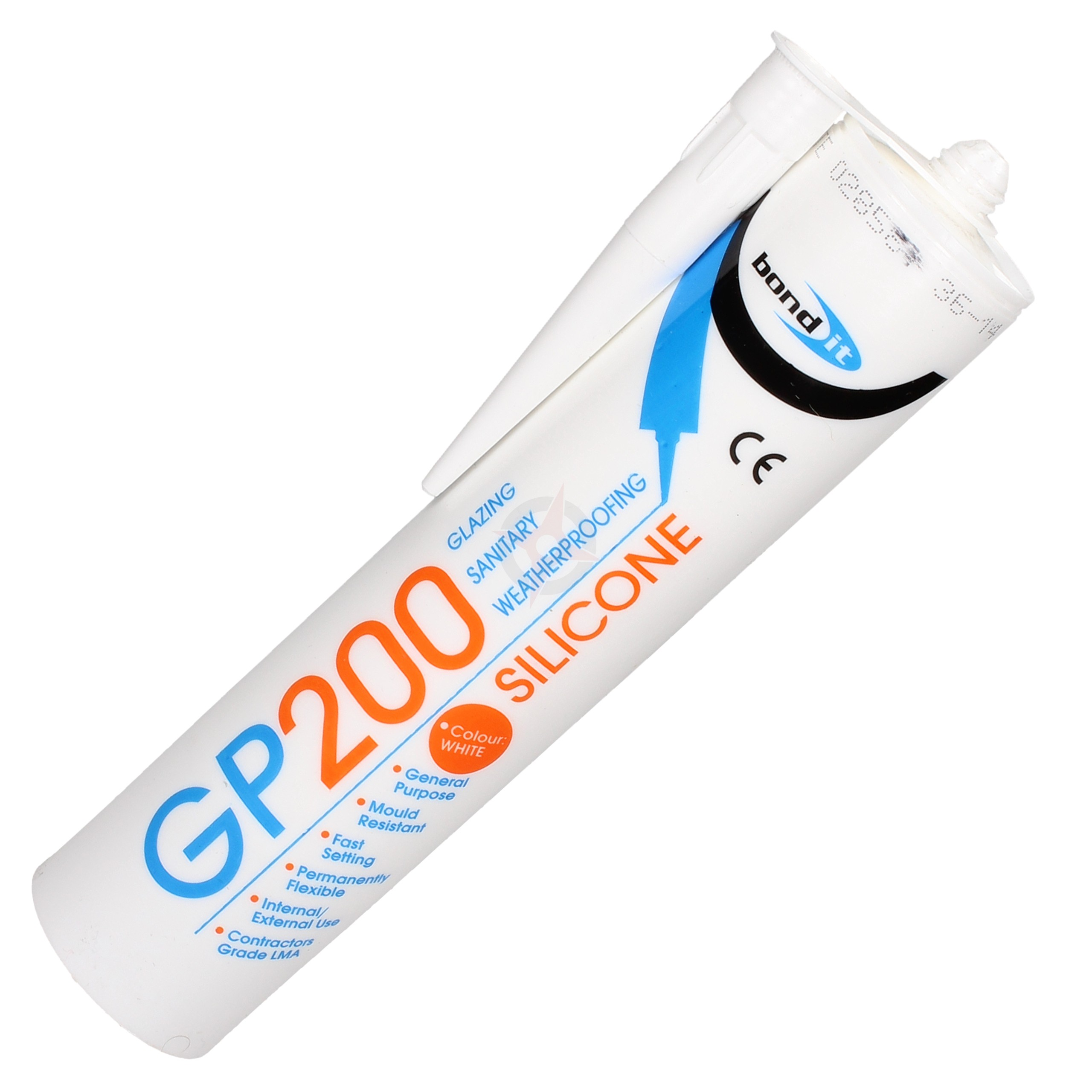 General Purpose Silicone Sealant - White