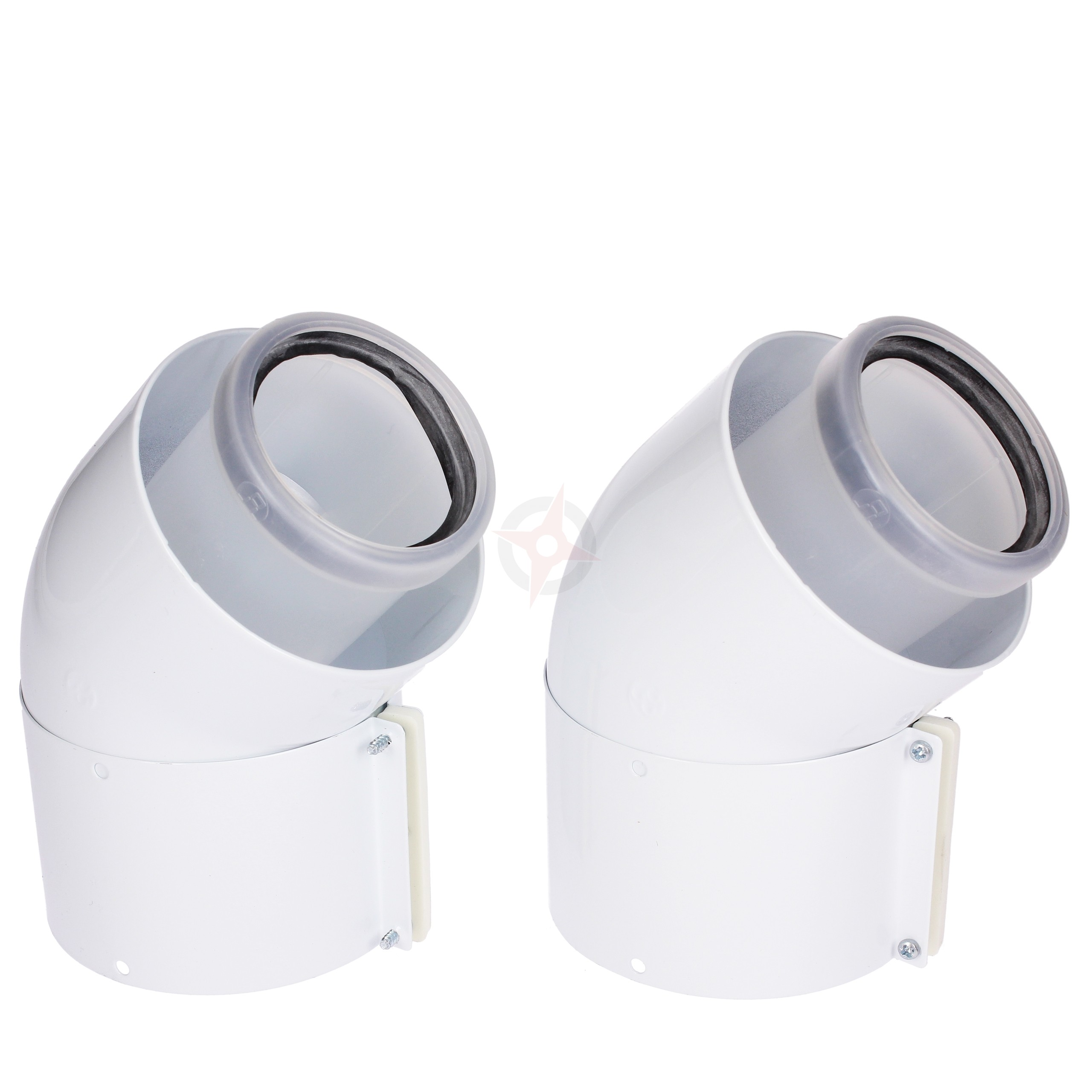 Glow-worm Pair of 45 Degree Flue Bends