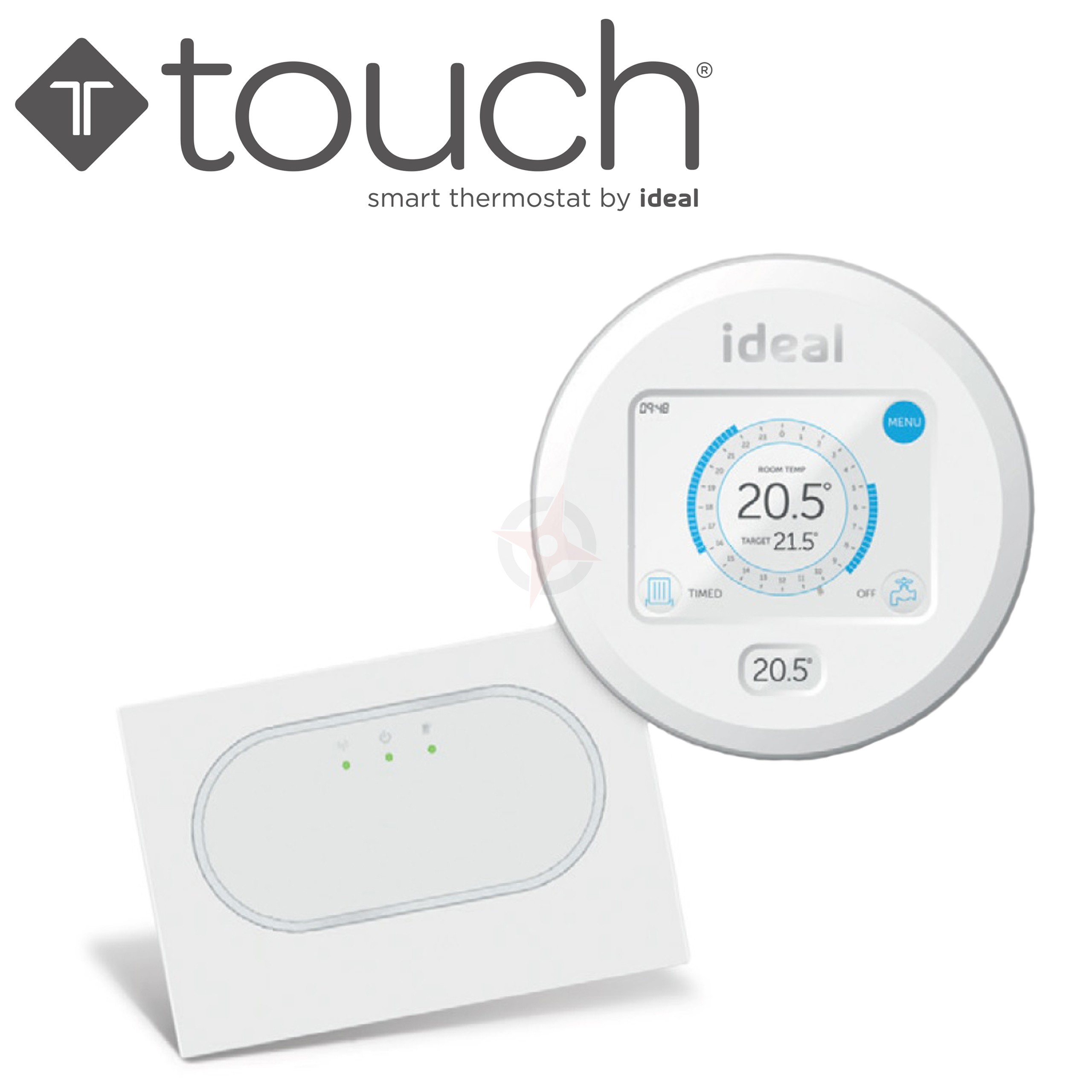 Ideal Touch RF Programmable Combi Room Stat