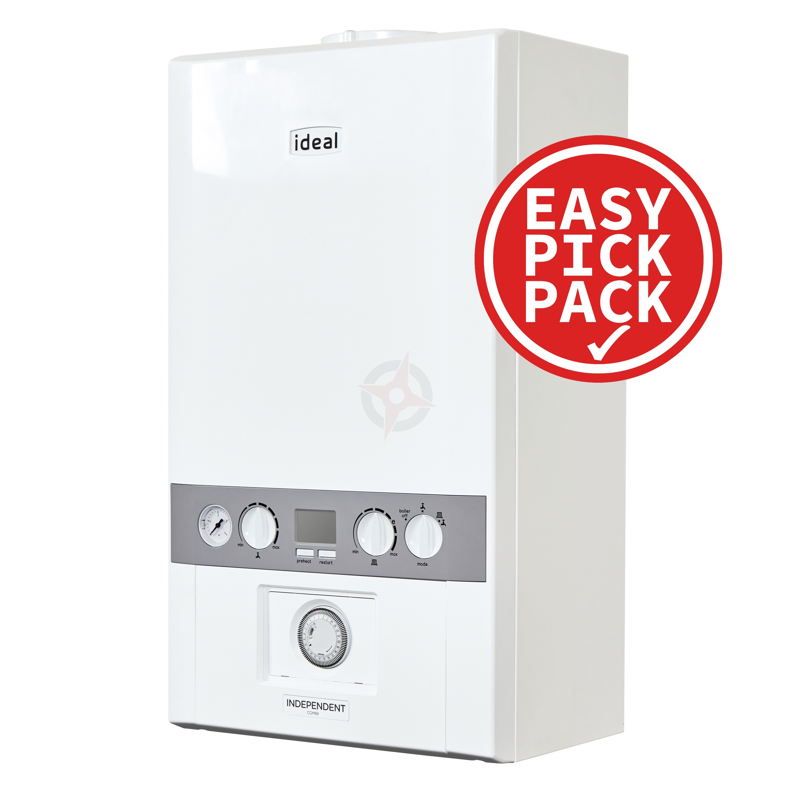 Ideal Independent C35 (ErP) Combi Boiler Easy Pick Pack