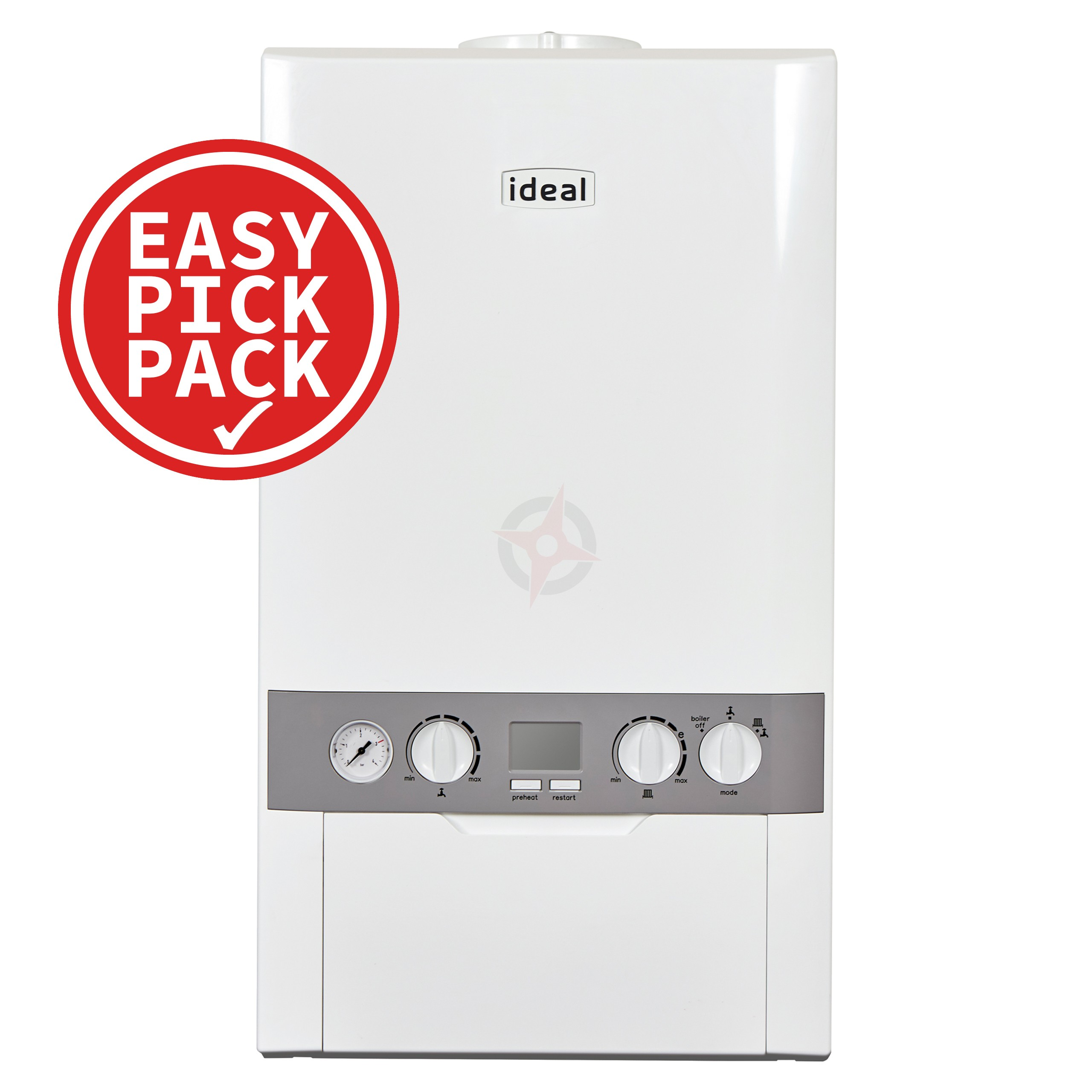 Ideal Independent+ (Plus Model) C24 (ErP) Combi Boiler Easy Pick Pack