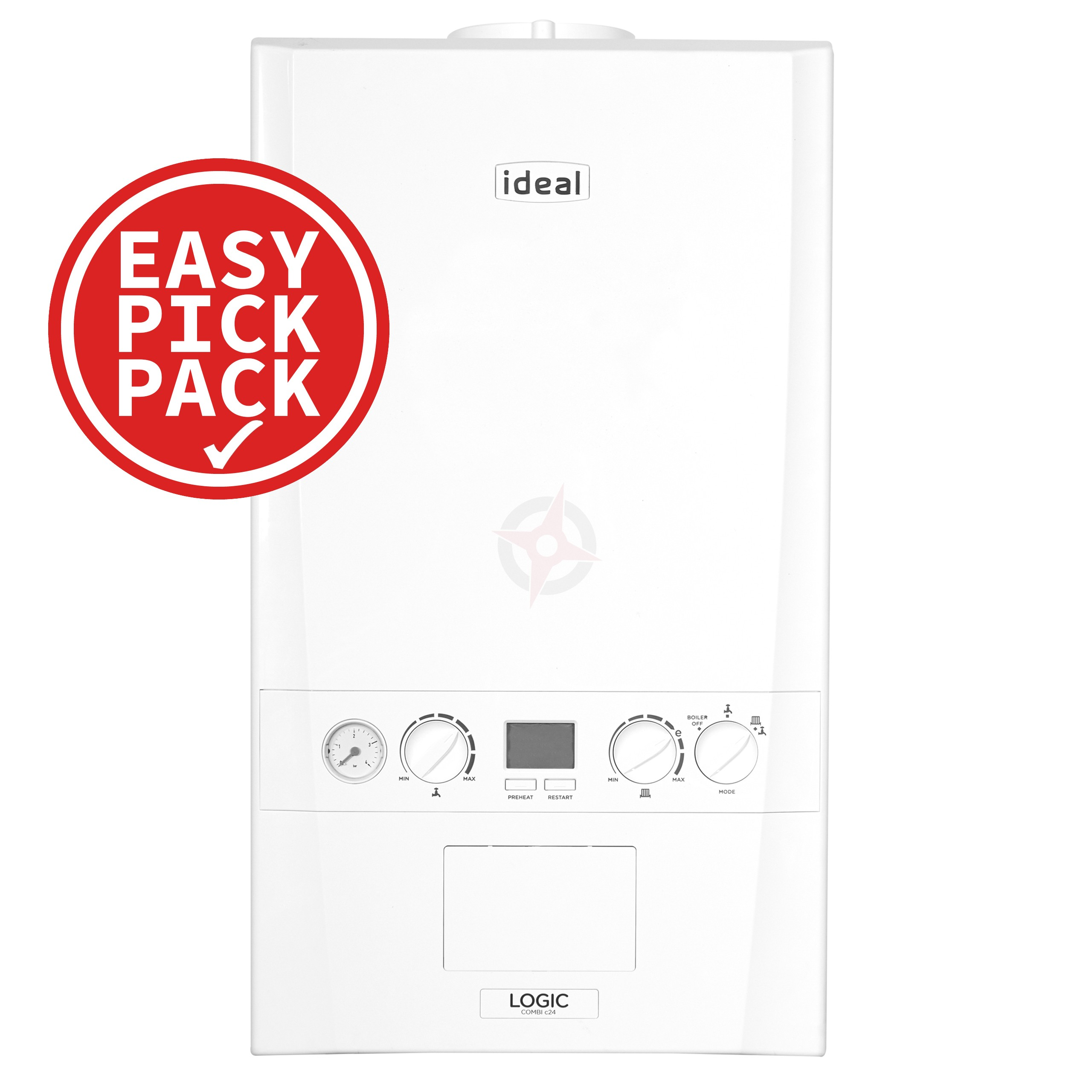 Ideal Logic 35 (ErP) Combi Boiler Easy Pick Pack