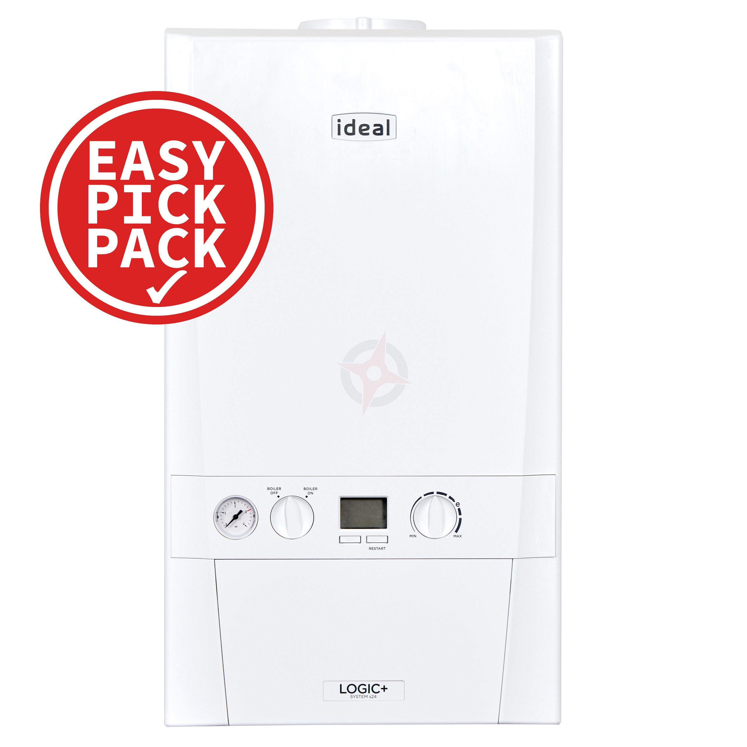 Ideal Logic+ (Plus Model) 15 (ErP) System Boiler Easy Pick Pack