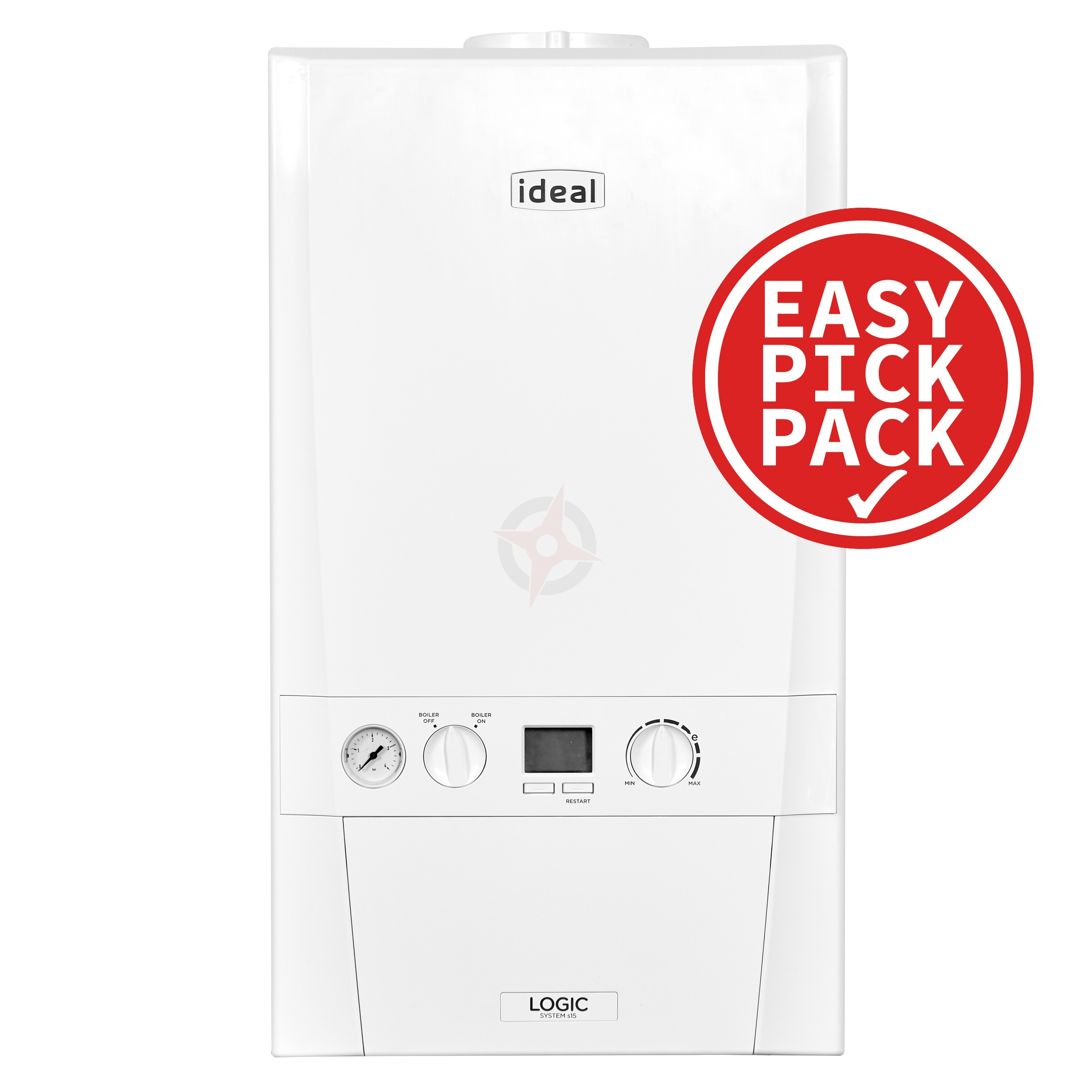 Ideal Logic+ (Plus Model) 30 (ErP) System Boiler Easy Pick Pack
