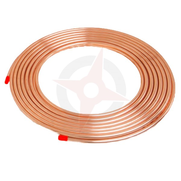 Microbore copper tube 10mm x 10 metre coil