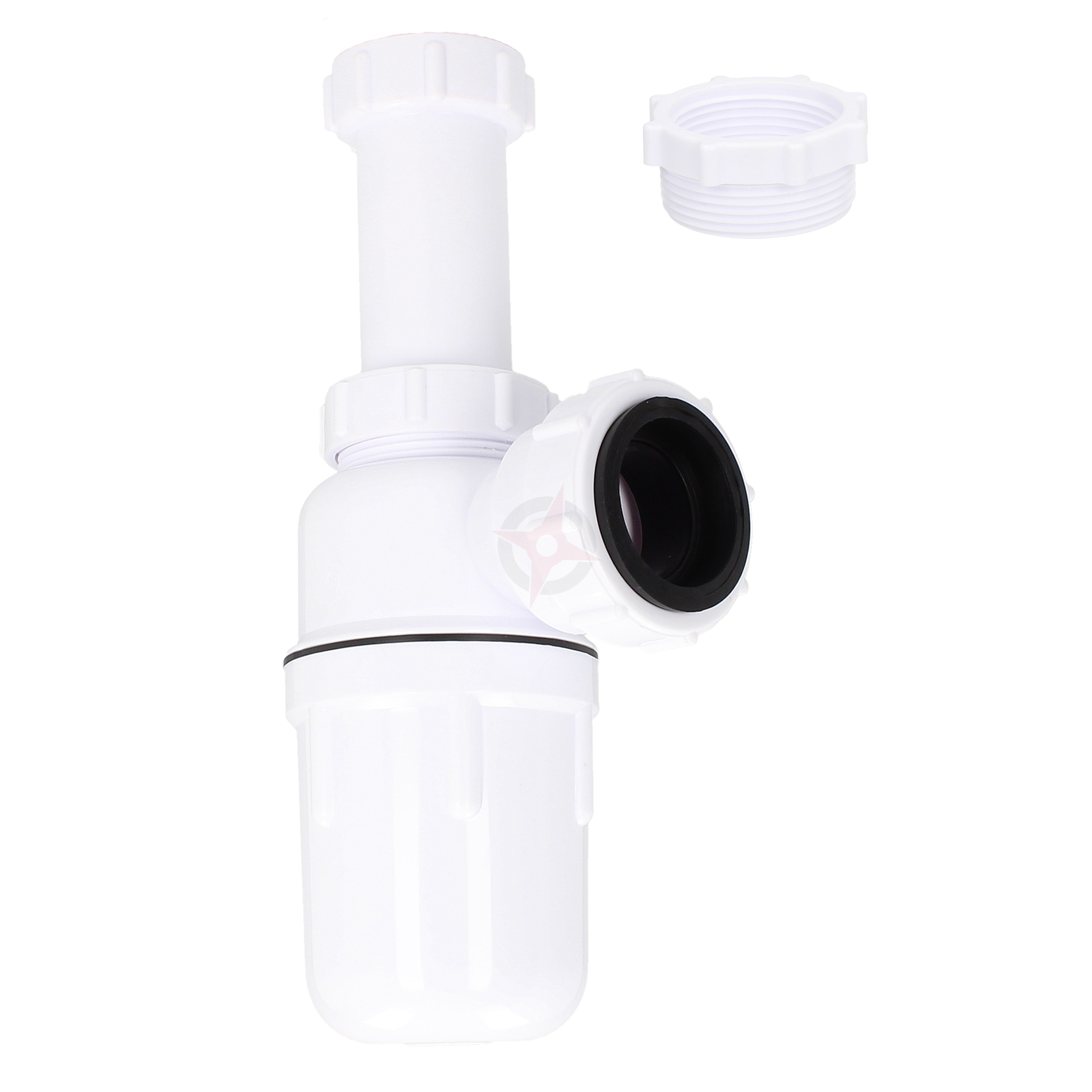 "Kimsion Multiple Plastic Bottle Trap with 6"" Telescope and 32mm x 38mm Adaptor"