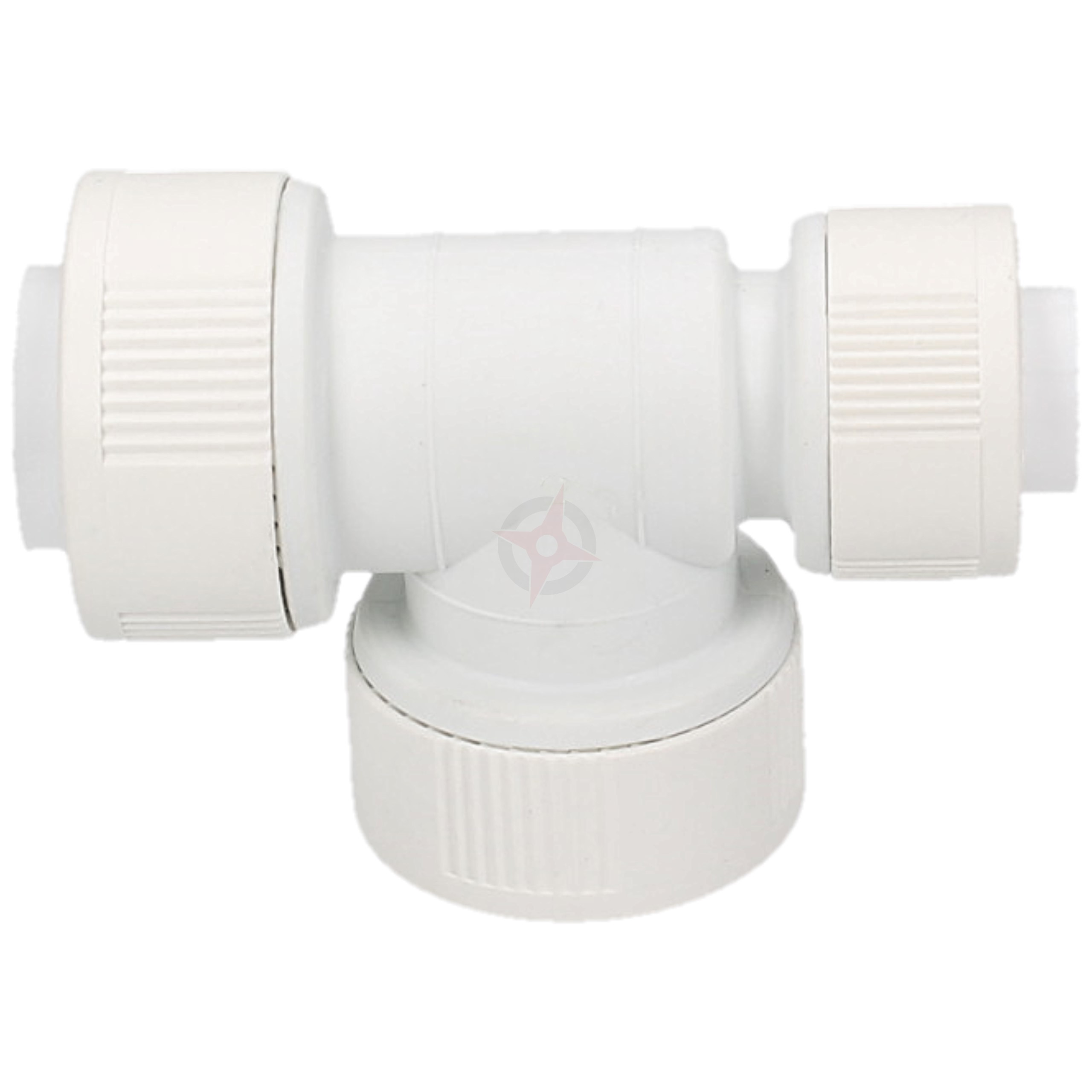 Whitespeed Push Fit 22mm x 15mm x 22mm Reducing Tee (15mm End)