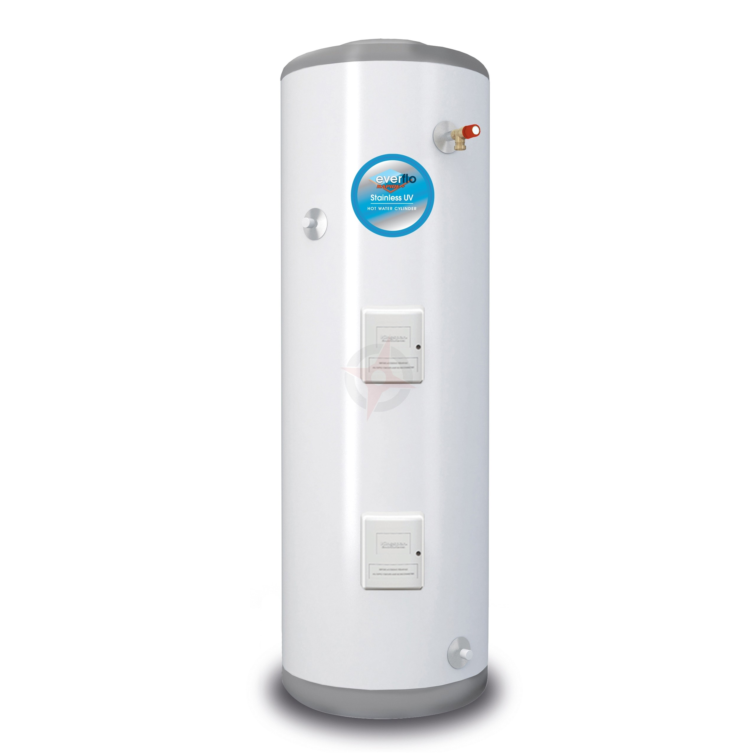 everflo Rapide+ 150L Direct Unvented Hot Water Storage Cylinder & Kit