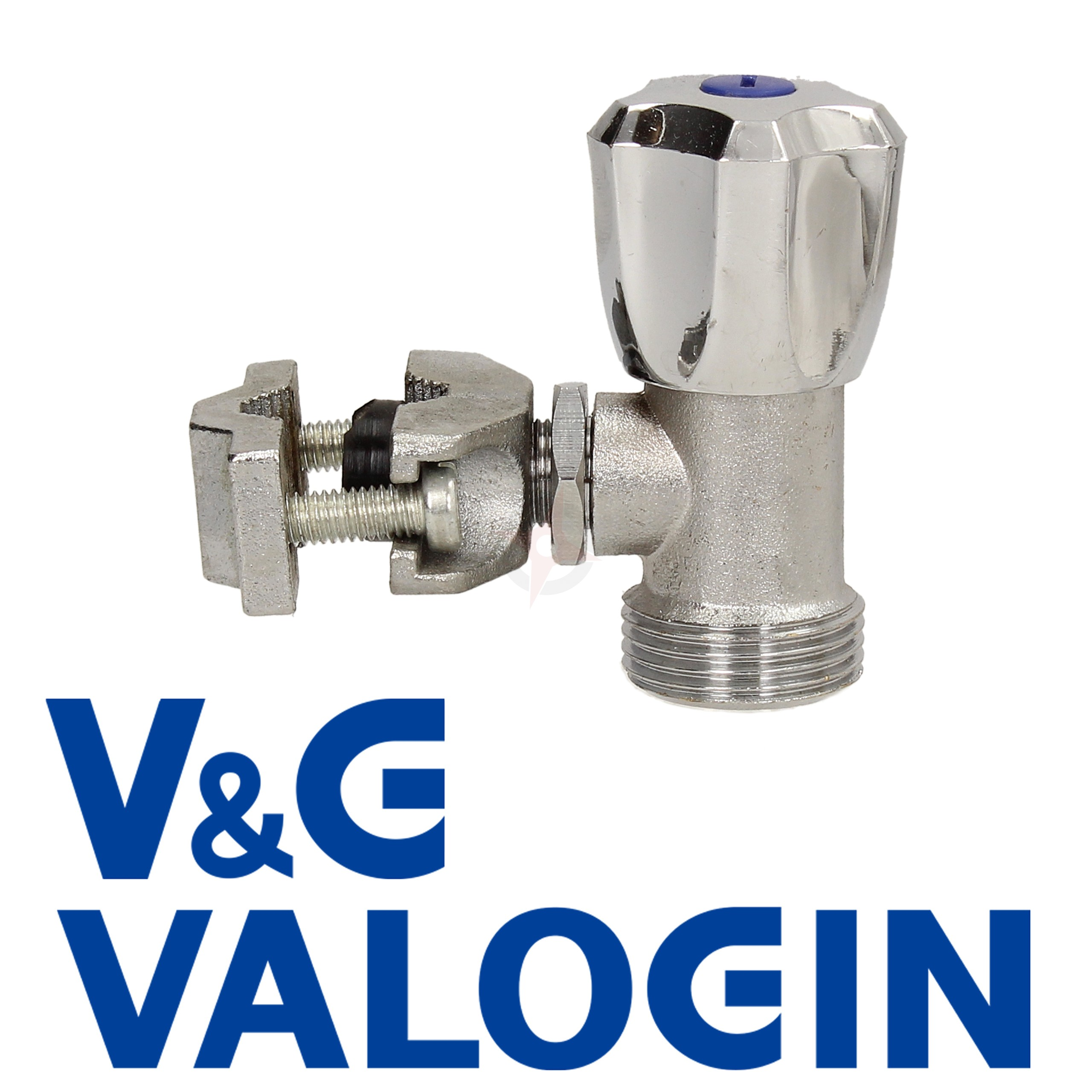 "V&G Chrome 3/4"" Self Cutting Washing Machine Valve"