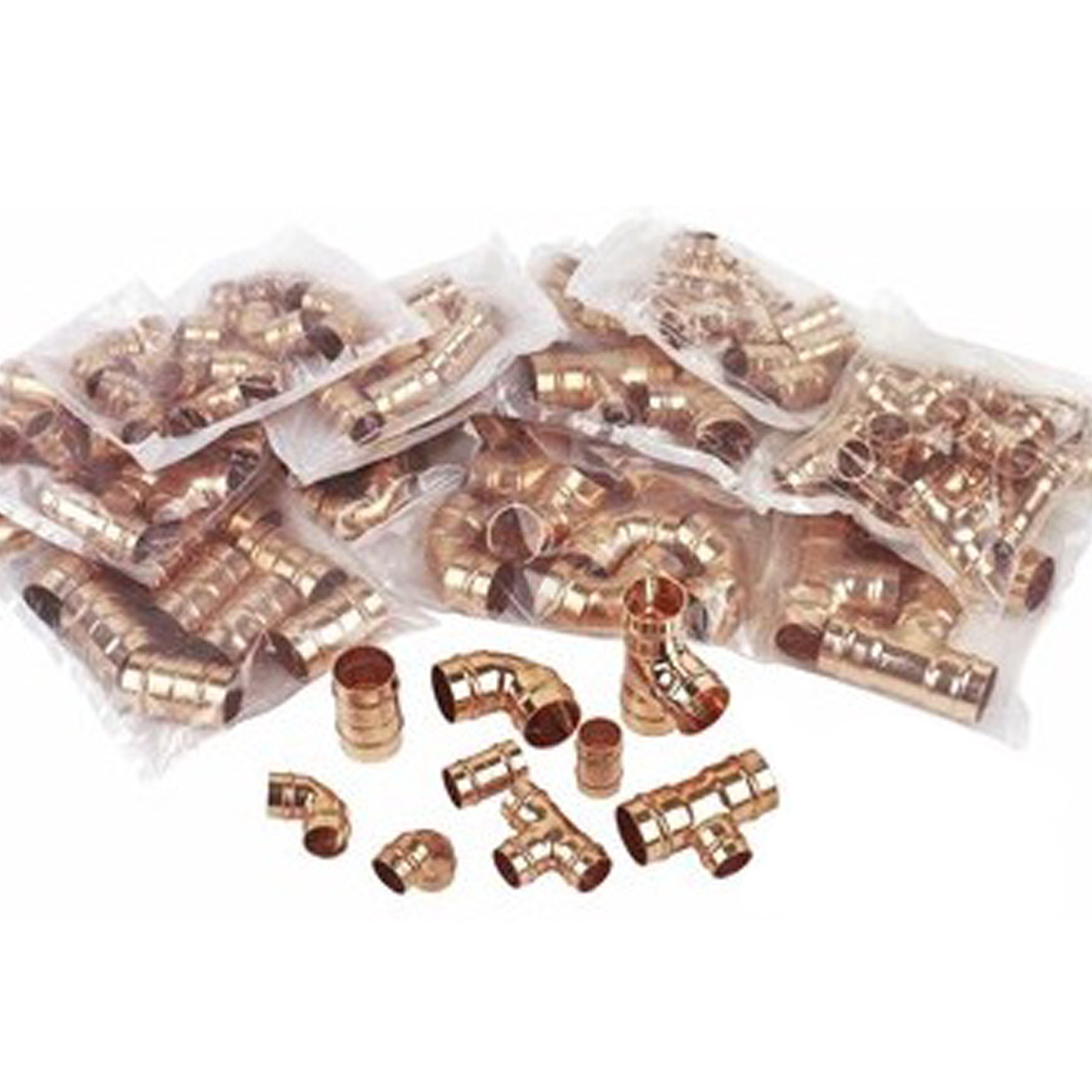 Solder Ring Fittings Pack  (135 Fittings)