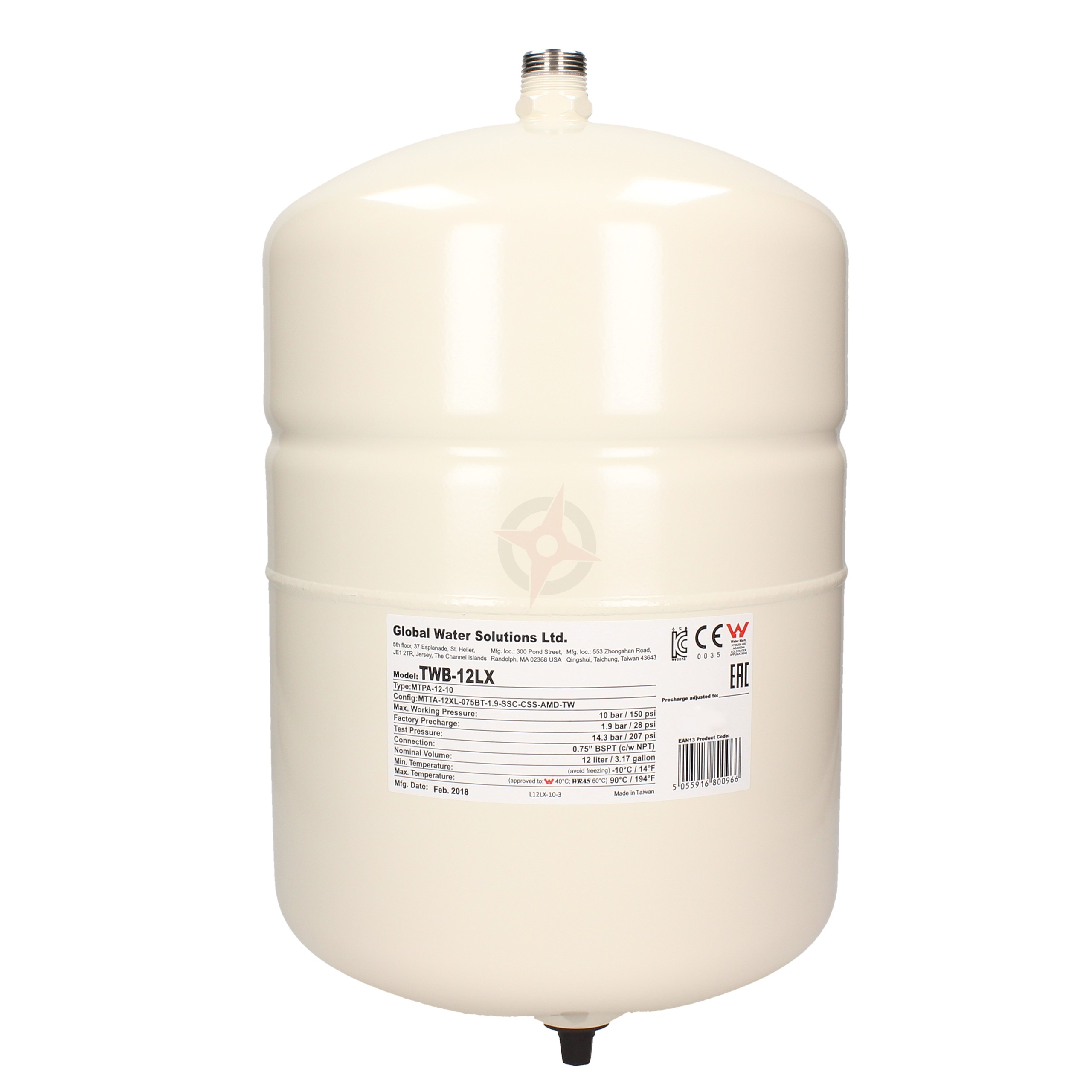 ThermoWave 12 Litre Potable Expansion Vessel