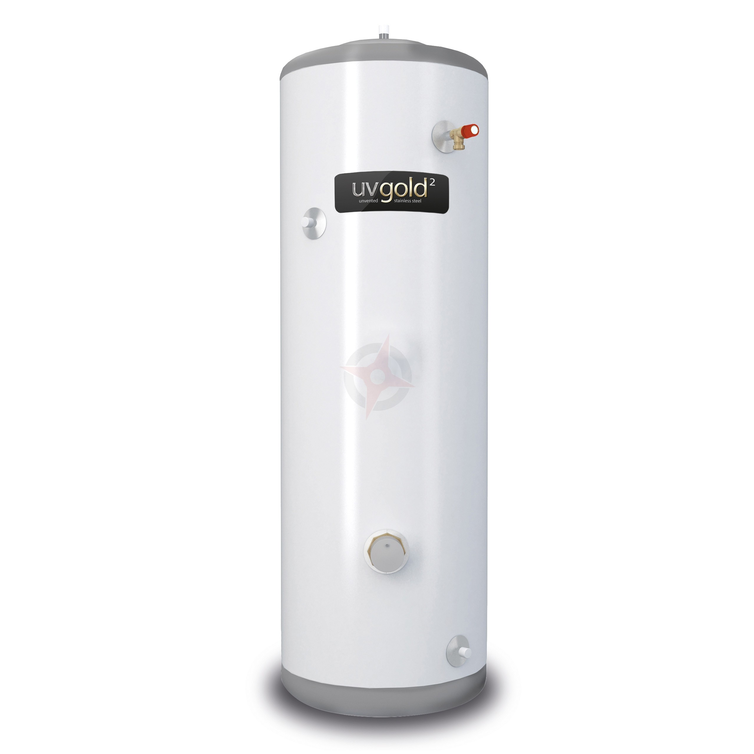 uvgold2 90L Direct unvented hot water cylinder and kit - Compass ...