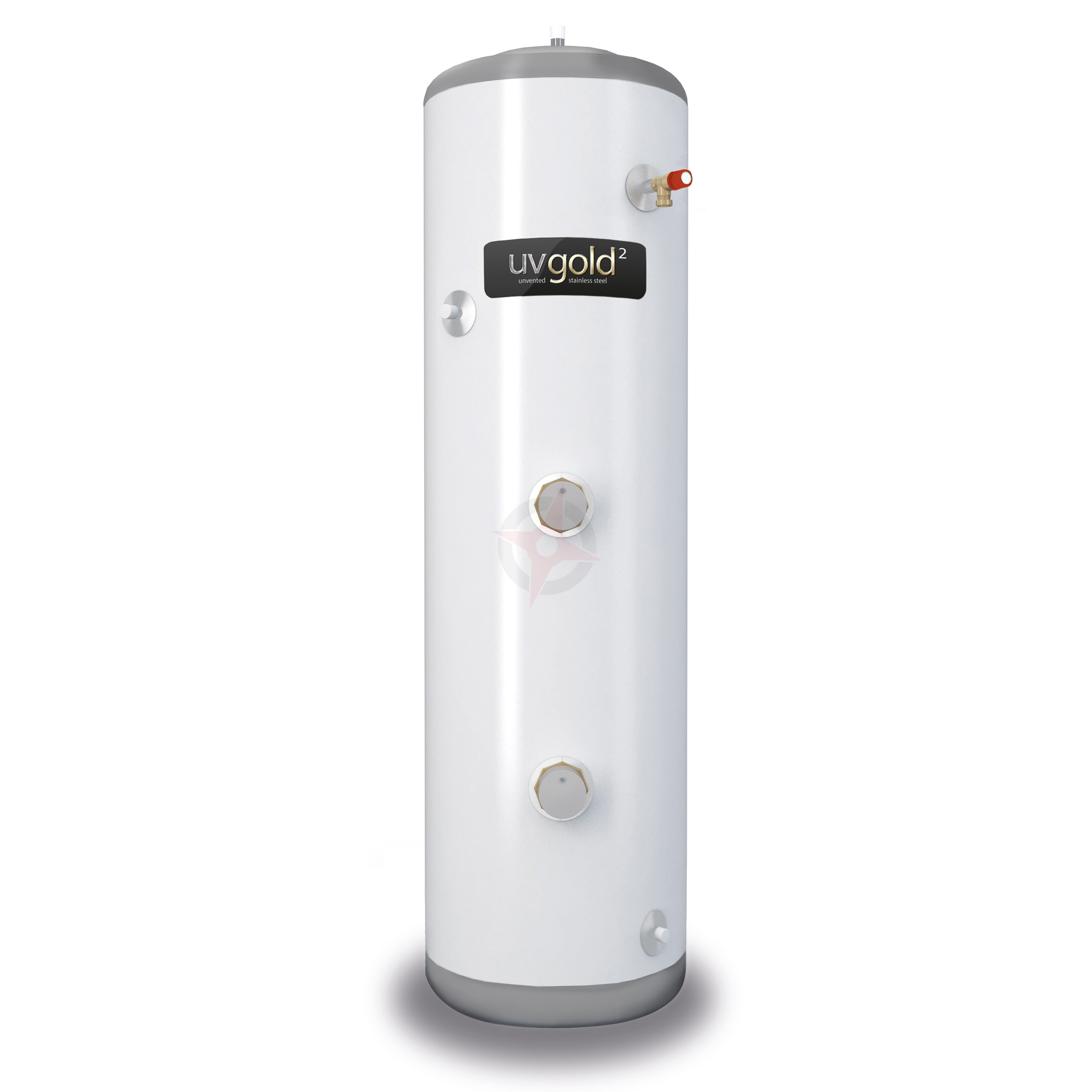 uvgold2 150L Slim-Fit Direct Unvented Hot Water Storage Cylinder & Kit