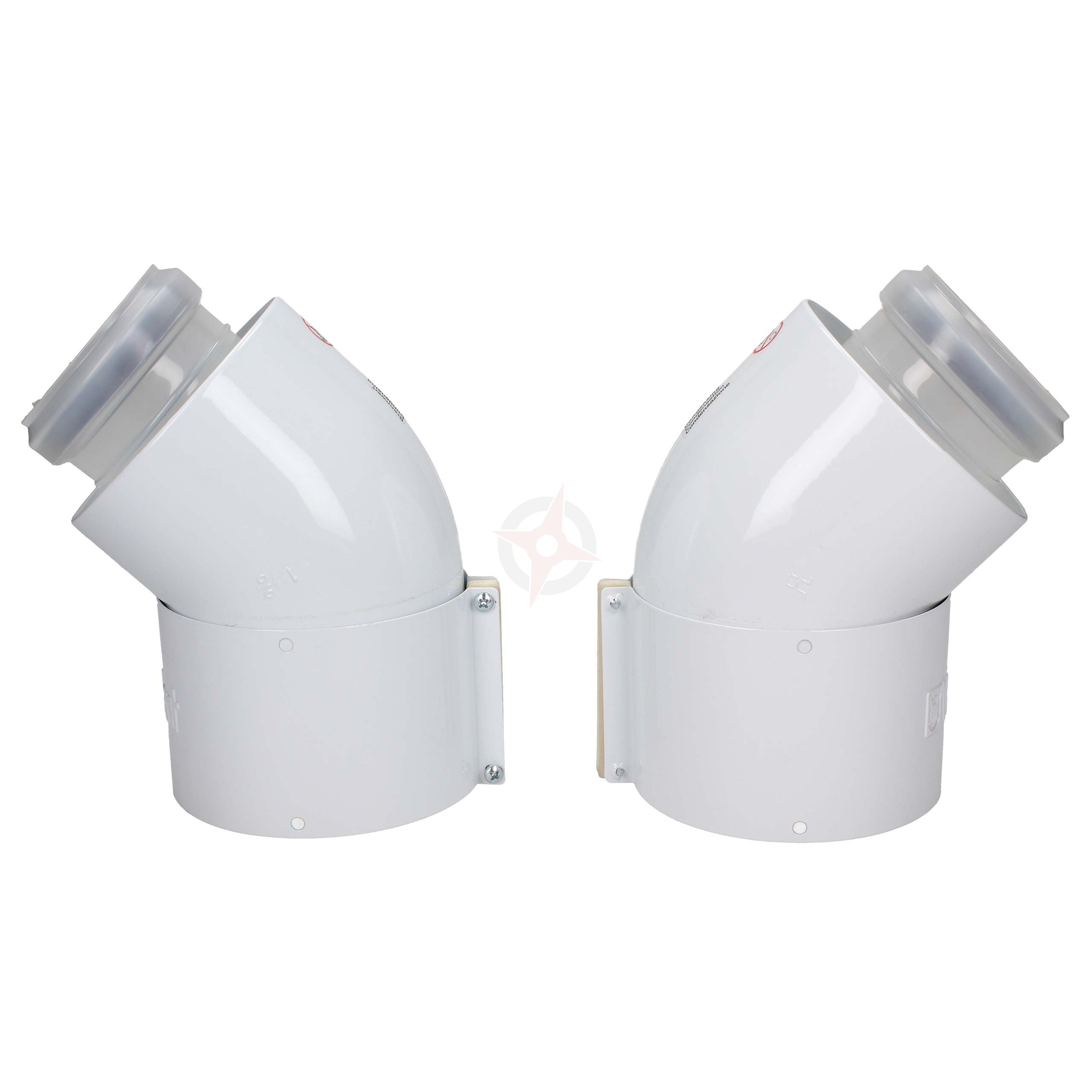 Vaillant 45 Degree Flue Bends (Pack Of 2)