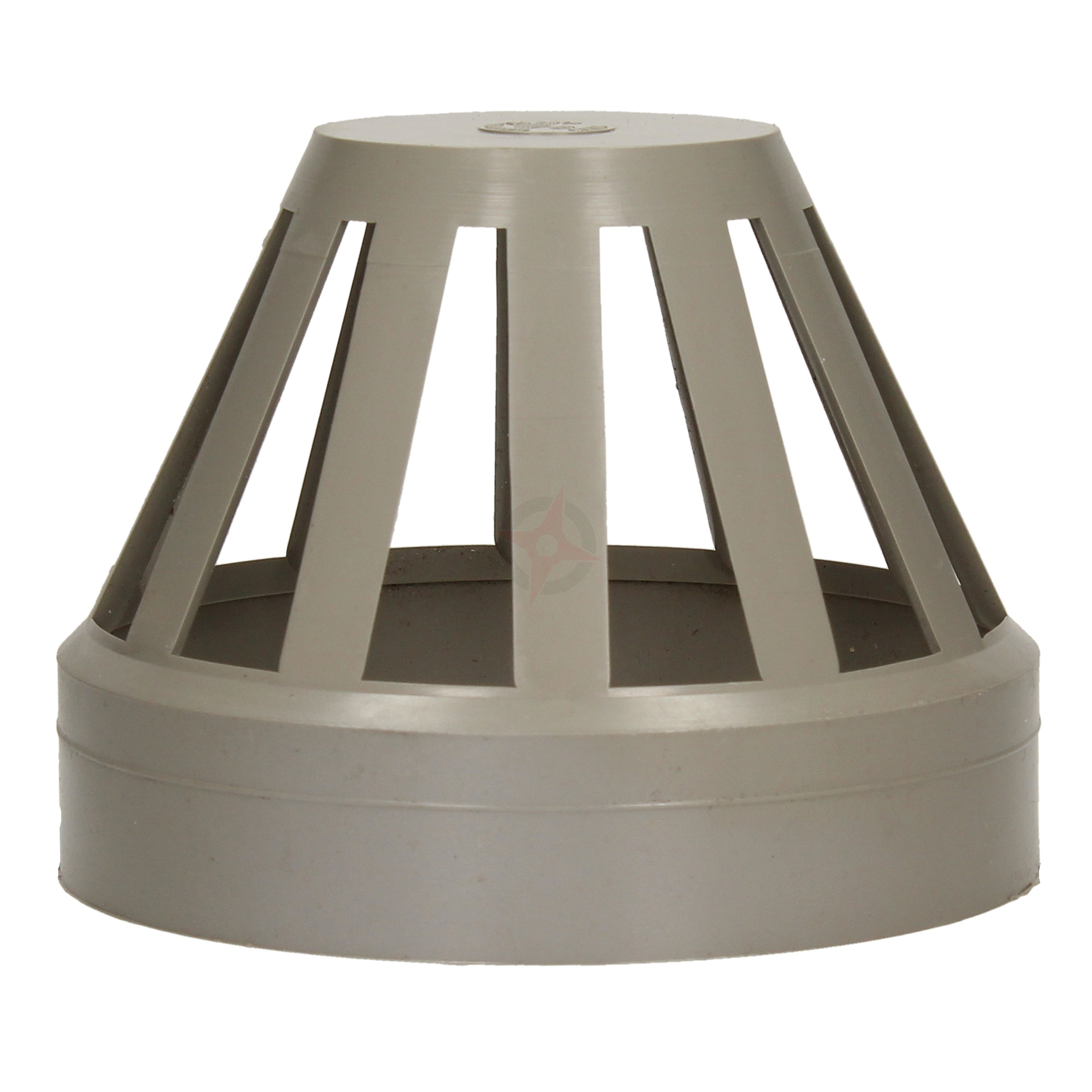 110mm Grey Solvent Weld Soil Vent Terminal