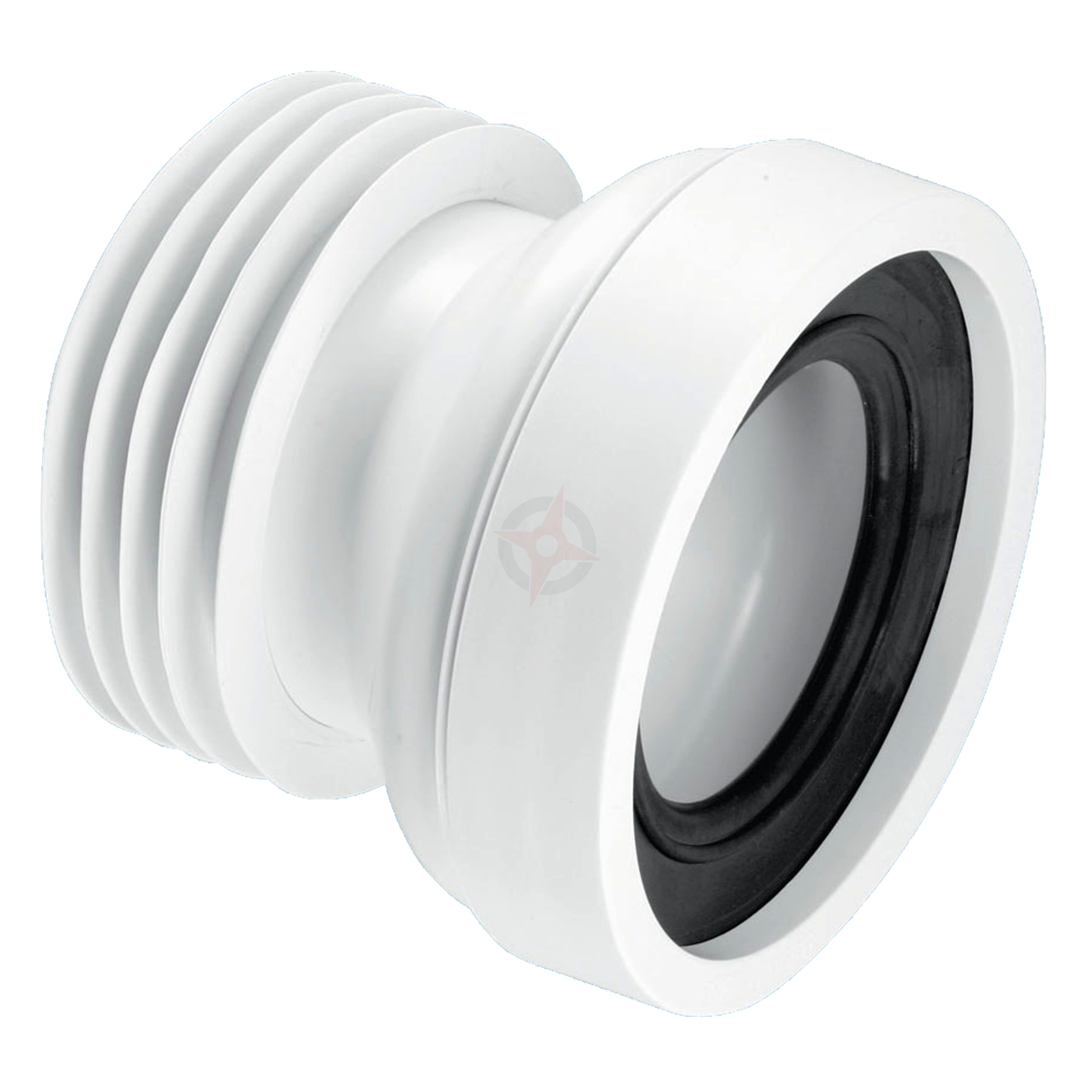 McAlpine 110mm Straight Pan Connector WC-CON1