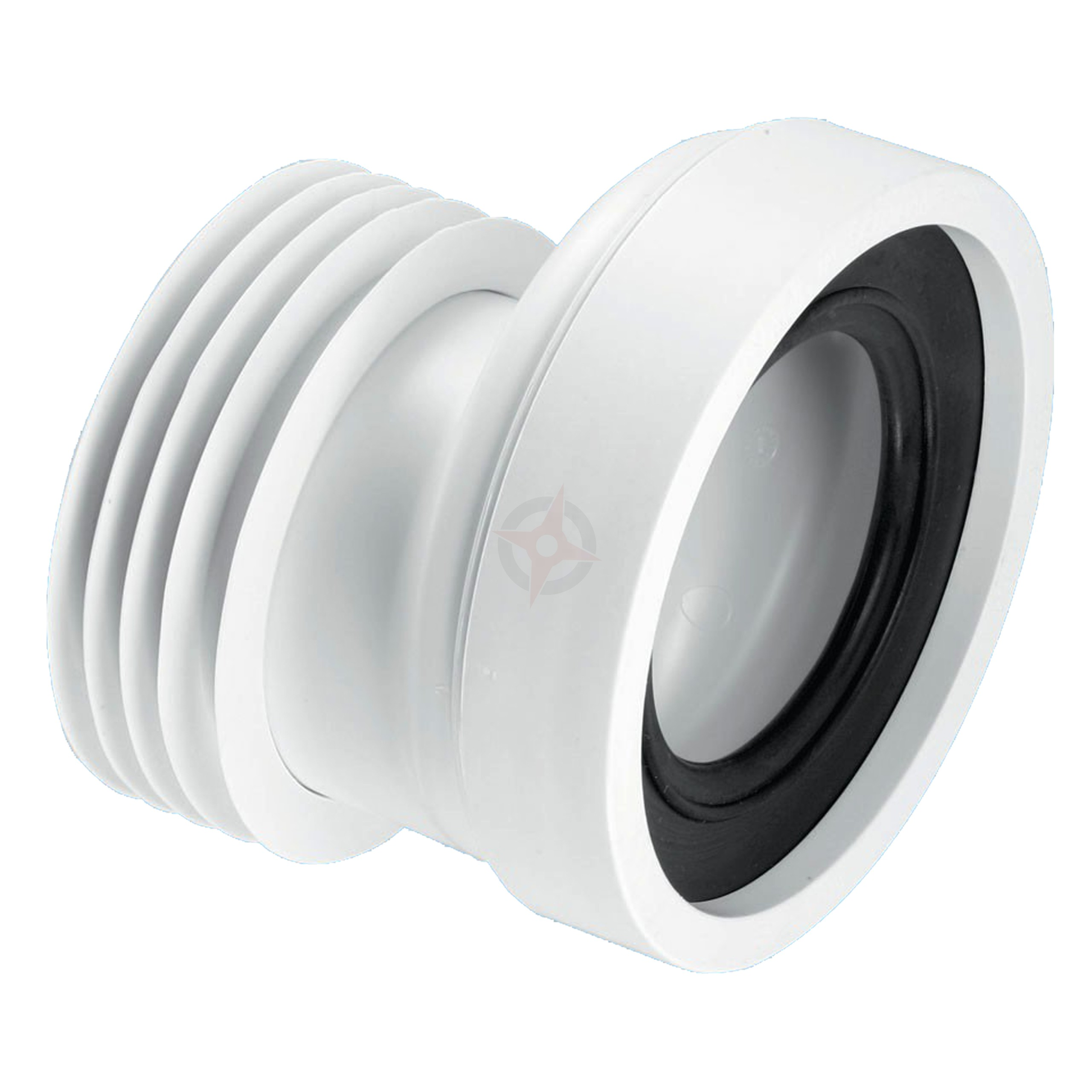 McAlpine 110mm Outlet x 20mm Offset Pan Connector WC-CON4