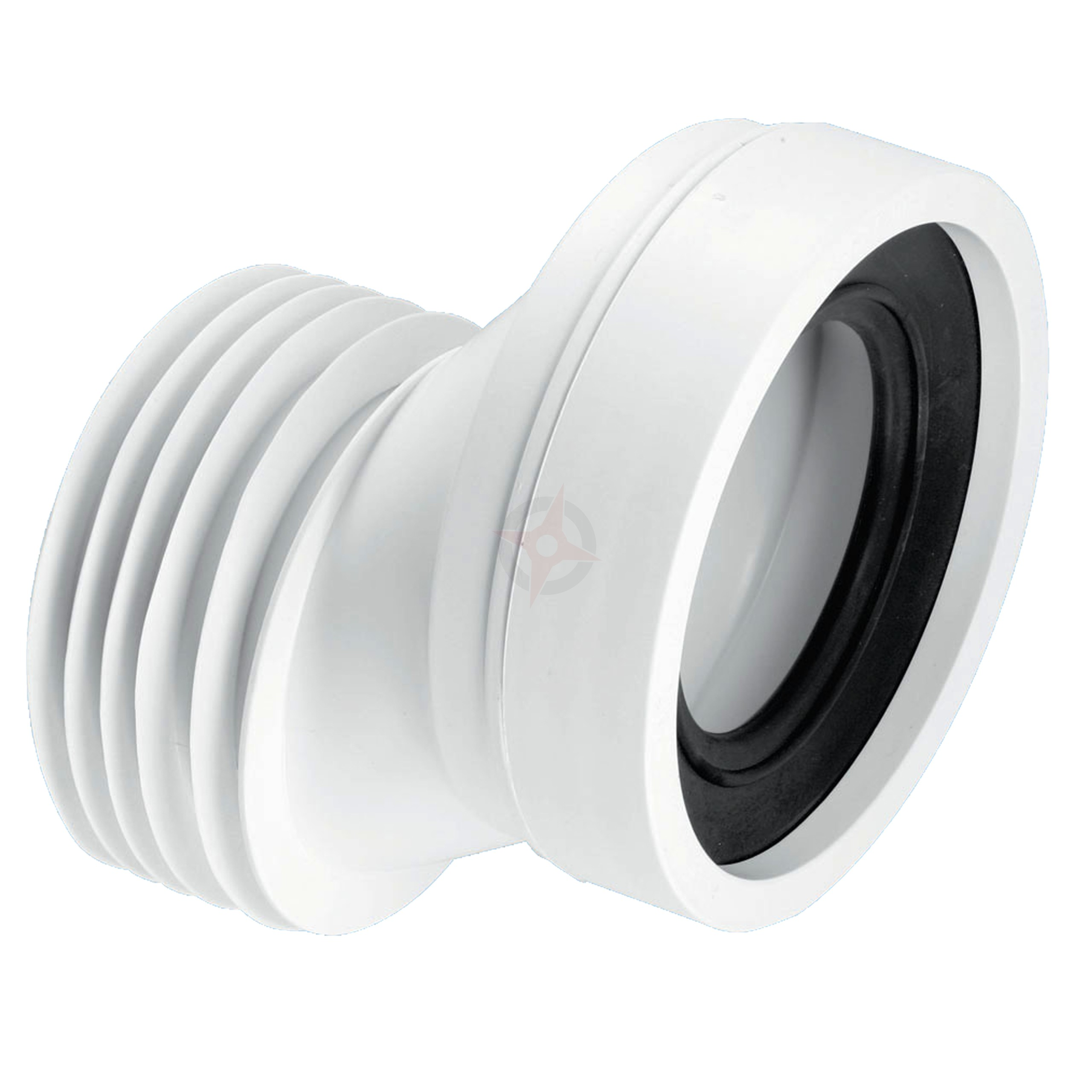 McAlpine 110mm Outlet x 40mm Offset Pan Connector WC-CON4A