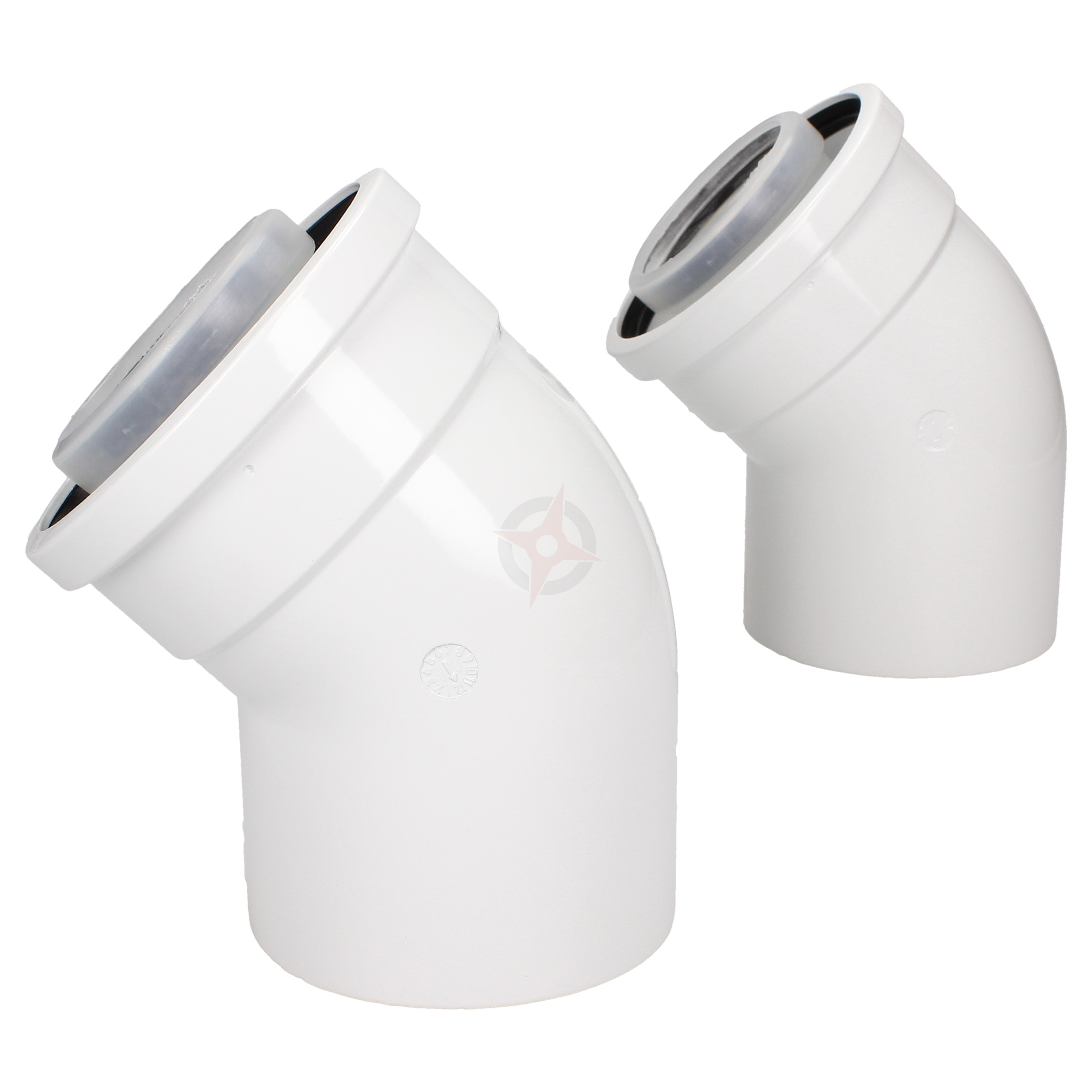 Worcester 45 Degree Flue Bends (Pair)