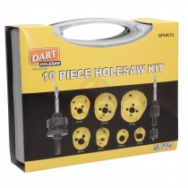 Dart 10 Piece Holesaw