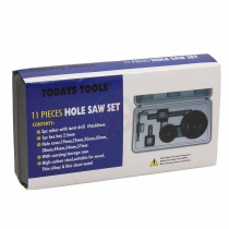 Todays Tools 11 Piece Hole Saw Set