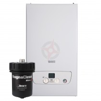Baxi 818 (ErP) System Boiler c/w MagnaClean Micro 2 Filter