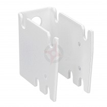 Revive White Extended 45mm / 50mm Wall Plate for Column Radiators (CVD2)