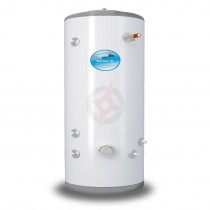 everflo Stainless 400L Indirect Unvented Hot Water Storage Cylinder & Kit