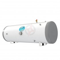 everflo Stainless 180L Horizontal Indirect Unvented Hot Water Storage Cylinder & Kit