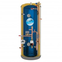 everflo Stainless 300L Pre-Plumbed Unvented Hot Water Storage Cylinder