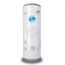 everflo Stainless 150L Indirect Unvented Hot Water Storage Cylinder & Kit
