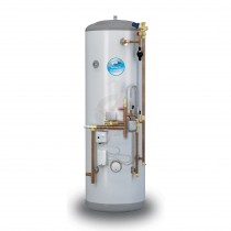 everflo Stainless 150L System Fit Unvented Hot Water Storage Cylinder