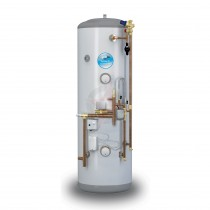 everflo Stainless 250L System Fit Unvented Hot Water Storage Cylinder