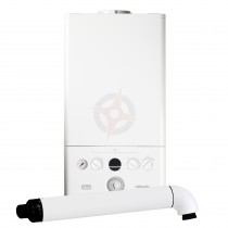 Ideal Atlantic 24 (ErP) Combi Boiler, Built-in Clock and Horizontal Flue
