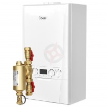 Ideal Logic Max 35 (ErP) Combi Boiler c/w Ideal System Filter