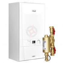 Ideal Logic Max 15 (ErP) Heat Boiler c/w Ideal System Filter