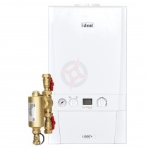 Ideal Logic Max 15 (ErP) System Boiler c/w Ideal System Filter