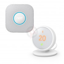 Google Nest Thermostat E and Protect Pack