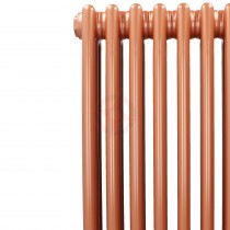 1500H x 398W 2 Column Vertical Rose Gold Radiator