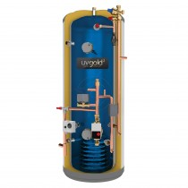 uvgold2 250L Pre-Plumbed Unvented Hot Water Storage Cylinder