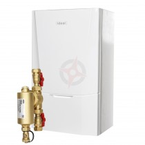Ideal Vogue Max 40 (ErP) Combi Boiler c/w Ideal System Filter