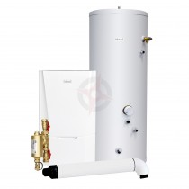Ideal Vogue Max 18 System Boiler, Filter, Horizontal Flue & Indirect Cylinder